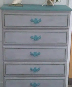 """A Taste of Key West"" Dresser and Nightstand"
