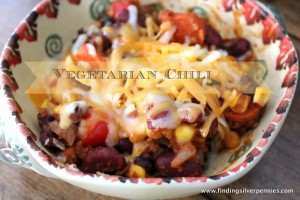 Fit Fridays: Vegetarian Chili