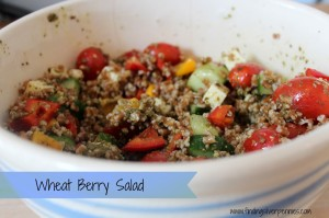Fit Fridays: Wheat Berry Salad