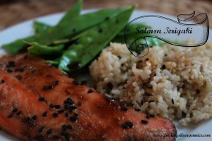 Fit Fridays: Salmon Teriyaki