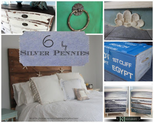 Six by Silver Pennies