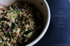 Easy Couscous and Herb Salad