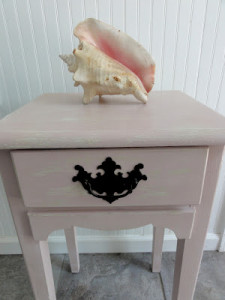Sea Shell Nightstand (Before & After)