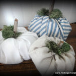 DIY: Fabric Pumpkins