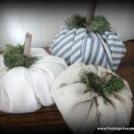 DIY: Fabric Pumpkins