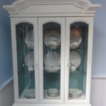 Juliet China Cabinet (Before & After)