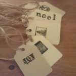 Hand-Made Holiday: Old Fashioned Gift Tags