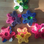 Hand-made Holiday: Snowflake Crayons