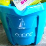 DIY: Beachy Easter Buckets