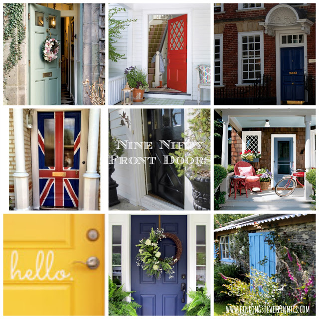 & Come on In: Nine Nifty Front Doors - Finding Silver Pennies