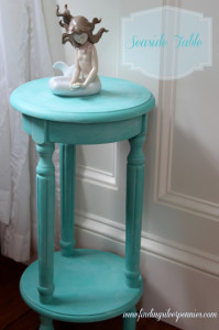 A Seaside Table (Before & After)