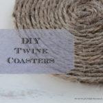 DIY: Twine Coasters