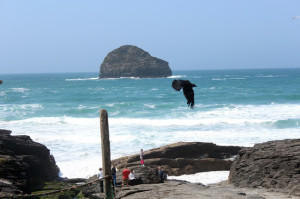Across the Pond (Part 3): Trebarwith Strand
