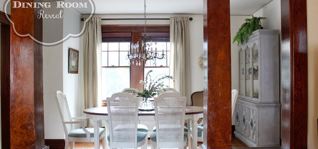 Dining Room Reveal – Designing on a Dime