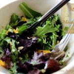 Mango and Mixed Greens