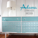 Adana Stencilled Dresser (Before & After)