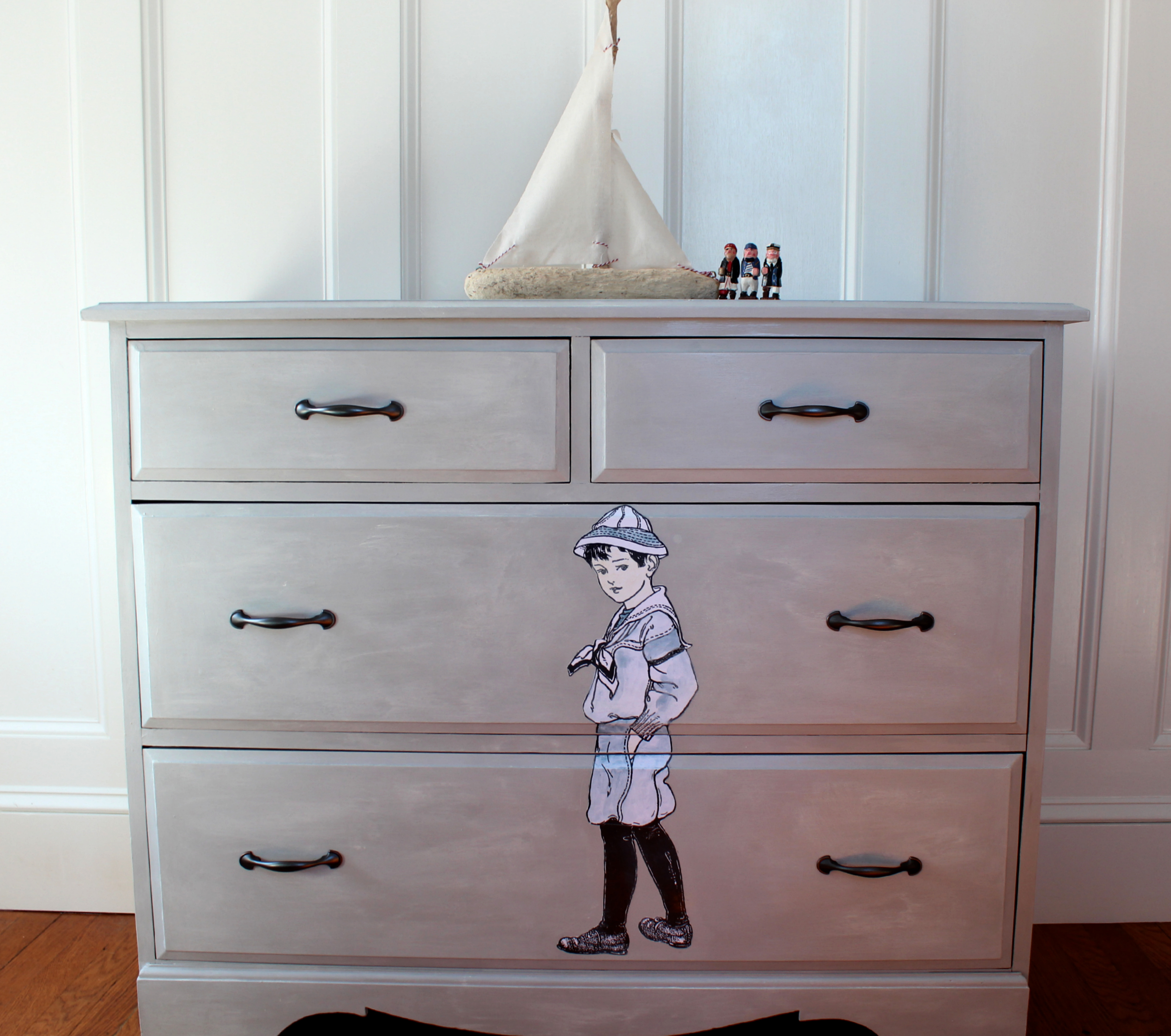 chalk paint furniture before and afterBefore  After  Finding Silver Pennies