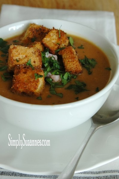 smoky white bean and potate soup with ham 2-2