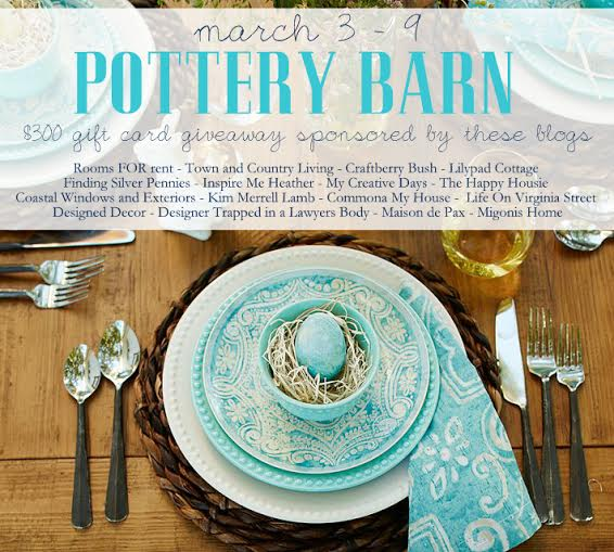 pottery barn giveaway 2