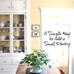 How to Create a Small Pantry