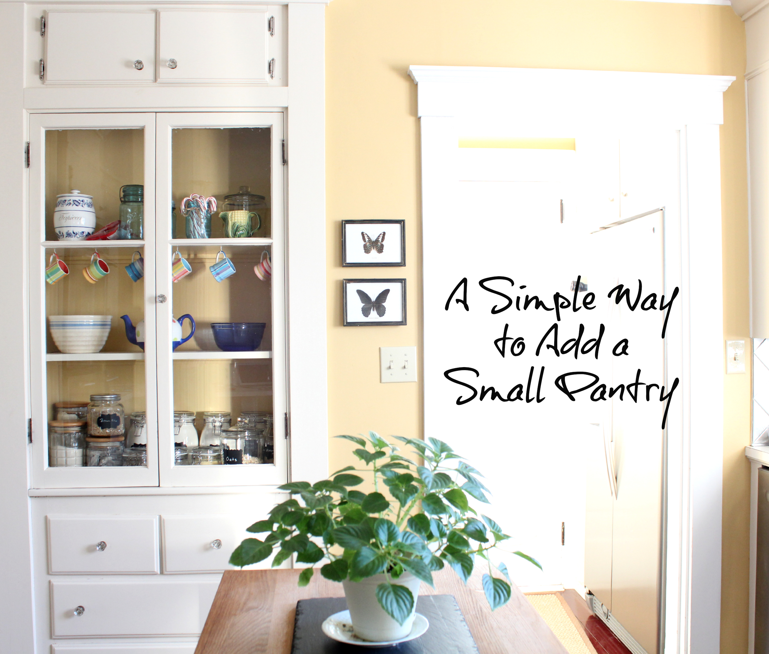 How To Create A Small Pantry Finding Silver Pennies