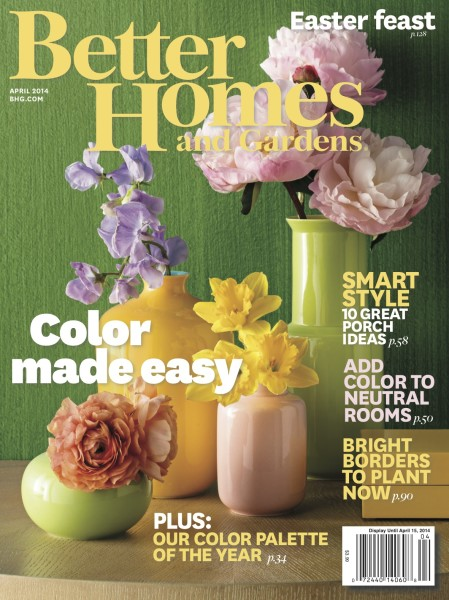 Better Homes and Gardens April 2014