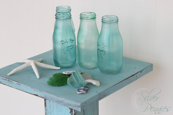 How To Make Sea Glass Bottles Finding Silver Pennies
