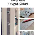 A Driftwood Height Chart (Inspire Me DIY)