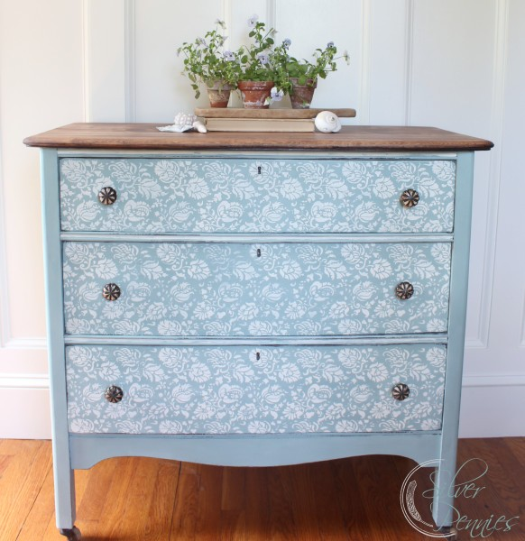 Duck Egg Blue Chalk Paint Dresser