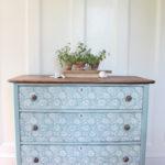 Fleur Chalk Paint Dresser (Before & After)