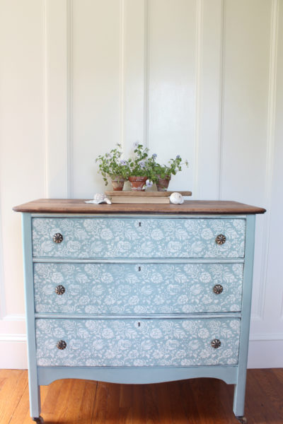 Fleur Chalk Paint Dresser (Before & After)