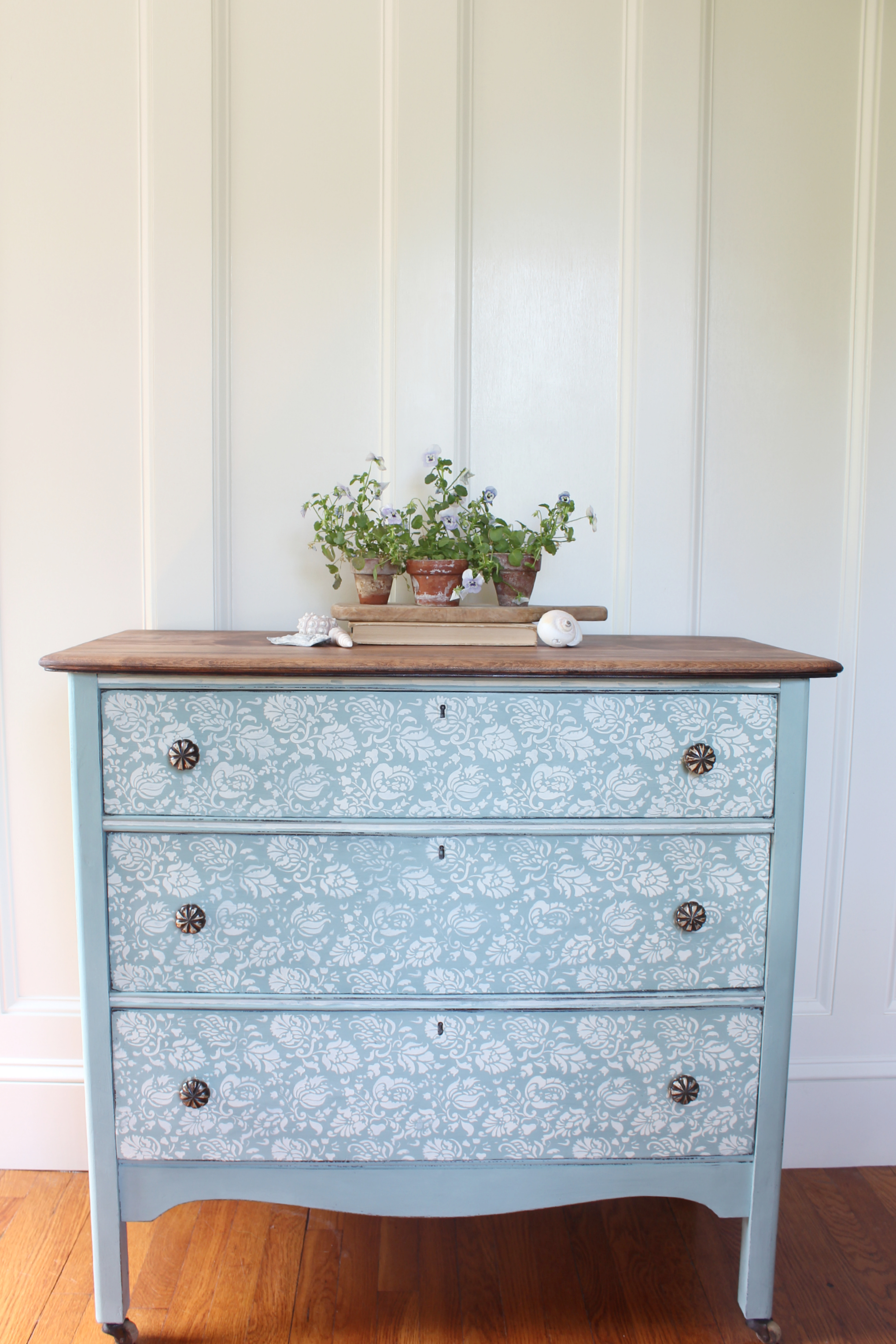 Fleur chalk paint dresser before after finding Best color to paint dresser