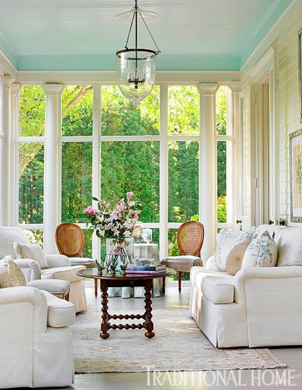 Screened In Porch Decorating Ideas Southern Living Sunrooms