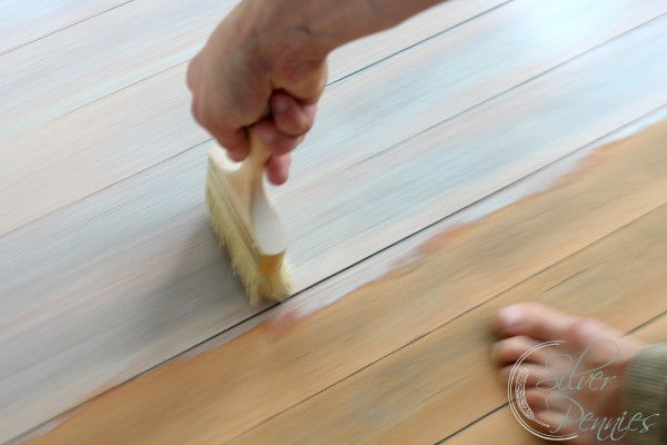How to create a driftwood floor finding silver pennies backbrushing solutioingenieria Images