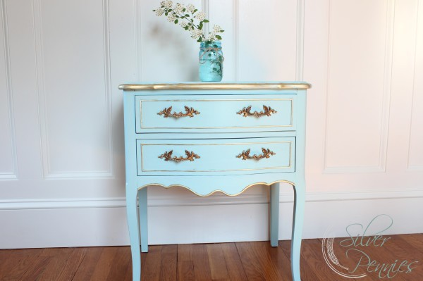 A Gilded Table Named Estelle (Before & After)