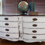A Serpentine Dresser Named Lily (Before & After)