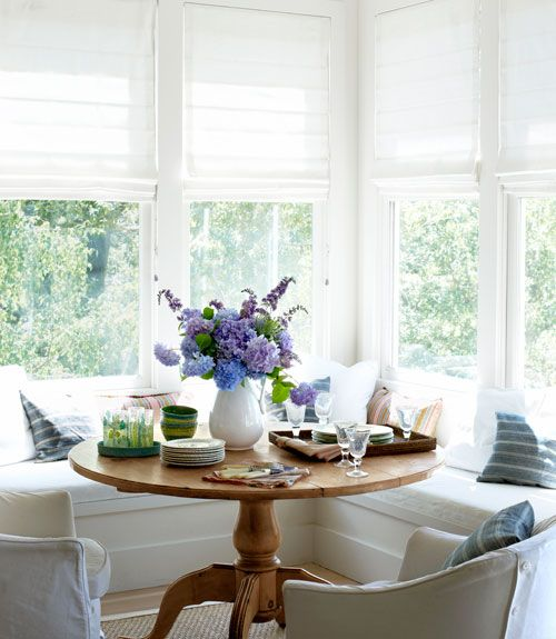 Kitchen Nook Curtains: Finding Silver Pennies