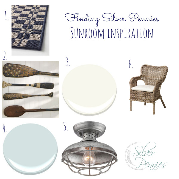 sunroom inspiration collage