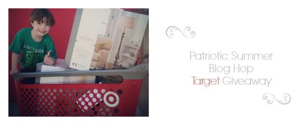 Patriotic Blog Hop & A Target Giveaway