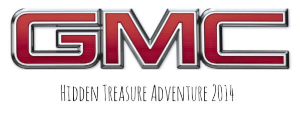 GMC Hidden Treasure Adventure 2014