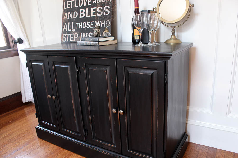 How Do You Paint Over Stained Cabinets