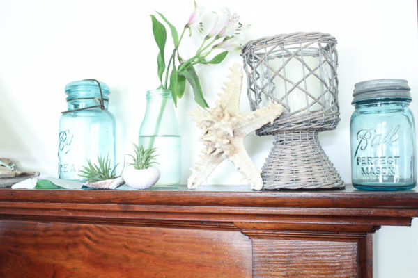 Seaside Summer Mantel