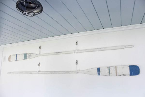 oars blue ceiling