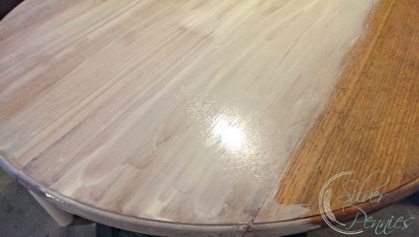 Our Sunroom Furniture Before After Finding Silver Pennies - Whitewash table top