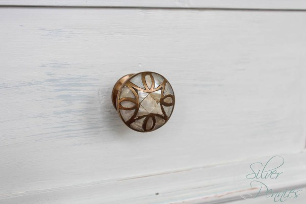 Anthropologie Mother of Pearl Knob