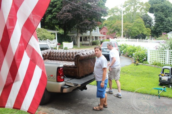 Bringing the Chesterfield Home