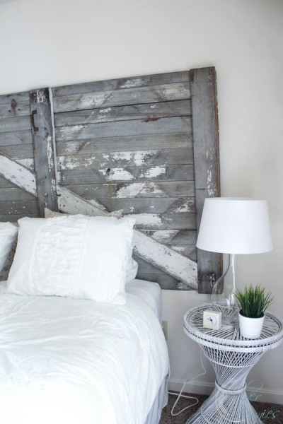 Chippy headboard