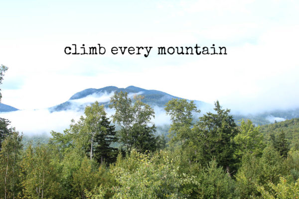 Climb Every Mountain: A Getaway to the White Mountains