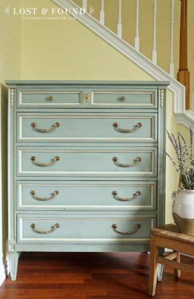 Duck Egg Blue Dresser