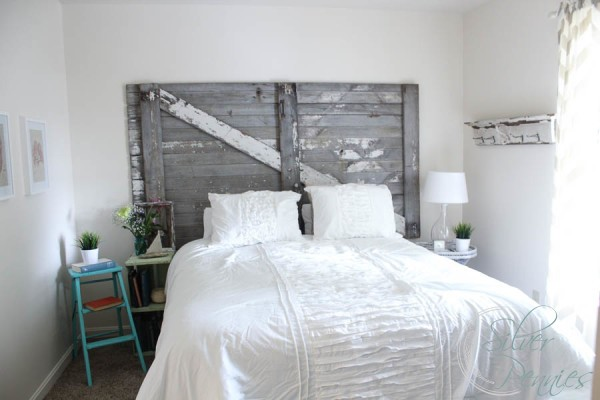 habitat for humanity bedroom reveal finding silver pennies 17045 | master bedroom shabby chic 600x400